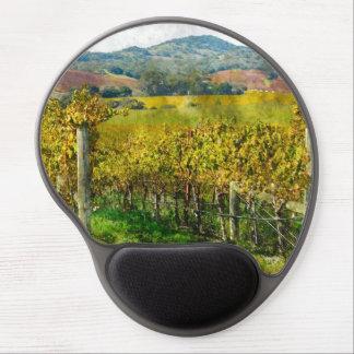 Napa Valley California Vineyard Gel Mouse Pad