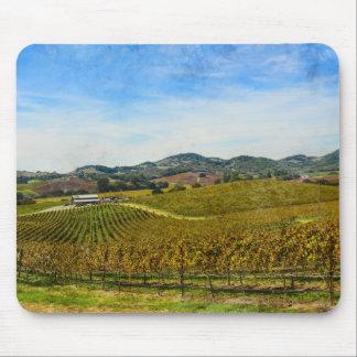 Napa Valley California Vineyard Mouse Pad