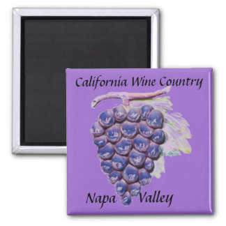 Napa Valley, California Wine Country Magnet