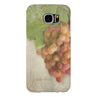 Napa Valley Pinot Grigio Wine Grapes Vineyard Art Samsung Galaxy S6 Cases