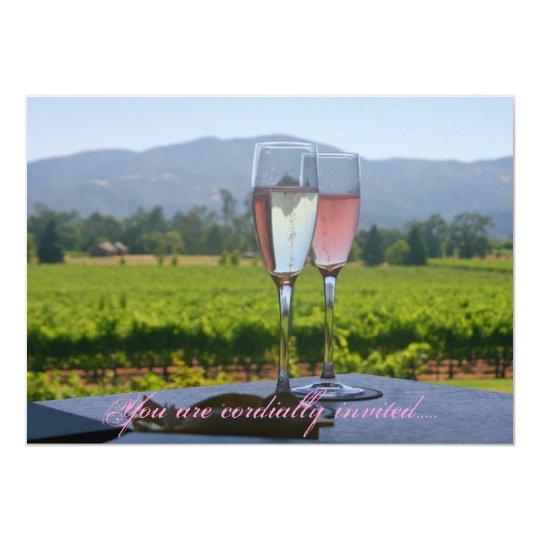Napa Valley Wedding Invitations