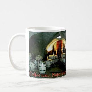 Napa Valley wine cave mug