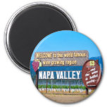 Napa Valley Wine Country Fridge Magnets