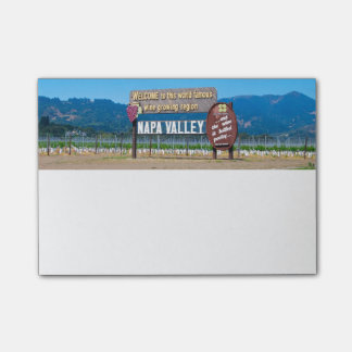 Napa Valley Wine Country Post-it Notes