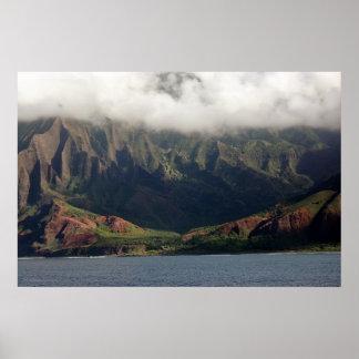 Napali Coast of Kauai Poster
