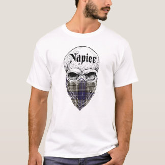 Napier Tartan Bandit T-Shirt