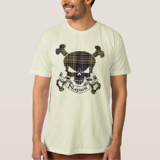 Napier Tartan Skull T-Shirt