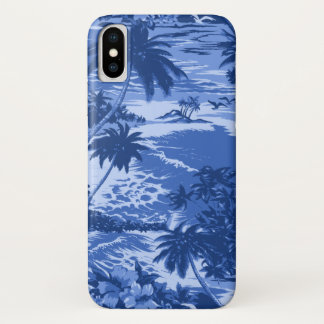 Napili Bay Hawaiian Island Scenic Blue iPhone X Case