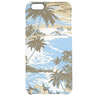 Napili Bay Hawaiian Island Scenic Clear iPhone 6 Plus Case