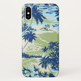Napili Bay Hawaiian Island Scenic Moss iPhone X Case