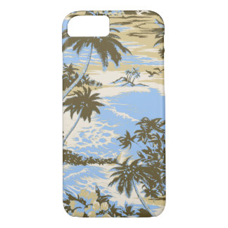 Napili Bay Hawaiian Island Scenic Sky Blue iPhone 8/7 Case