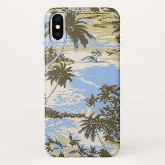 Napili Bay Hawaiian Island Scenic Sky Blue iPhone X Case