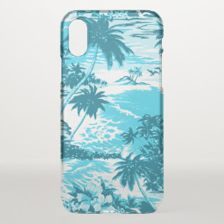 Napili Bay Hawaiian Island Scenic Turquoise iPhone X Case