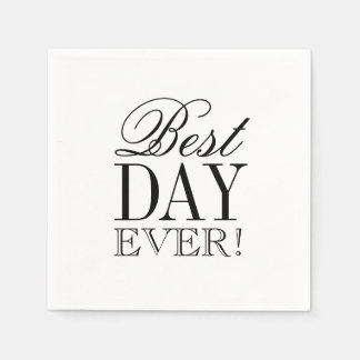 Napkin - Best Day Ever Disposable Napkins
