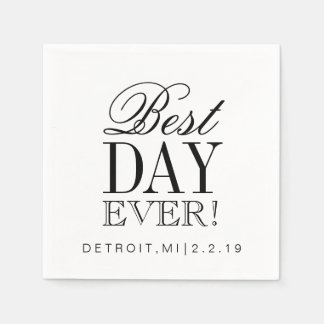 Napkin - Best Day Ever Paper Napkin