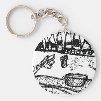 Napkin Cronicles 1 Keychain