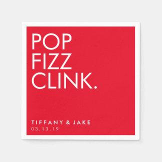 Napkin - Pop Fizz Clink Disposable Napkins