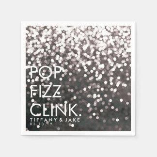 Napkin - Sparkling Pop Fizz Clink Disposable Napkin