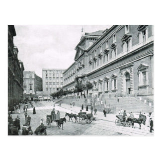 Naples, 1908, Museo Nationale Postcard