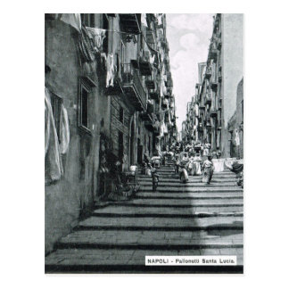 Naples, 1908, Palonetti S. Lucia Postcard