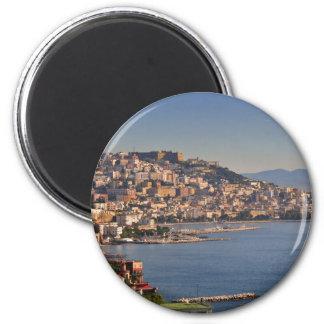 Naples 6 Cm Round Magnet