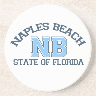 Naples Beach. Drink Coasters