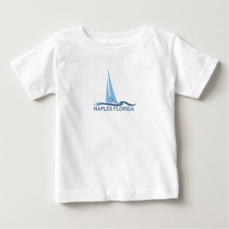 Naples Beach - Sailing Design. Baby T-Shirt