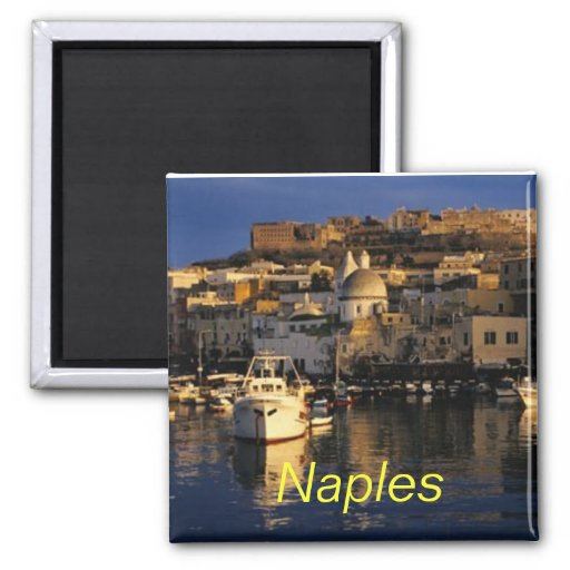 Naples italy magnet