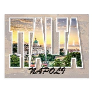Naples, Italy Postcard