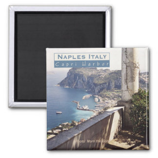 Naples Italy Travel Photo Souvenir Fridge Magnets