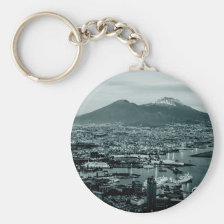 Naples Vesuvius Key Ring
