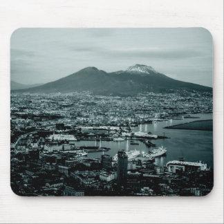 Naples Vesuvius Mouse Pad