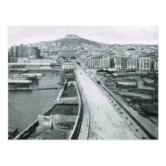 Naples Waterfront road 1908 Post Cards