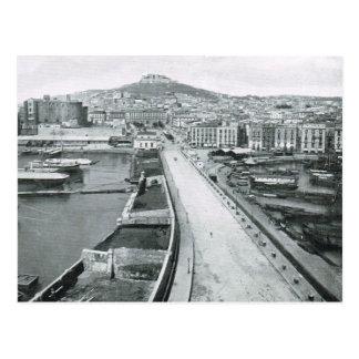 Naples, Waterfront road 1908 Postcard