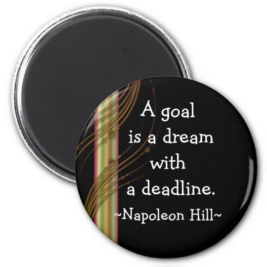 Napolean Hill Quotes(3) - Motivational Magnet