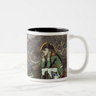 Napoleon and skeleton, 18th mugs