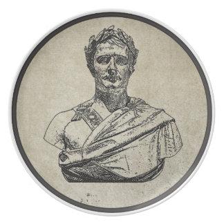 Napoleon as Caesar Party Plates