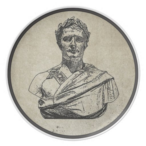 Napoleon as Caesar Party Plates
