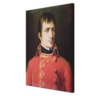 Napoleon Bonaparte  1796 Canvas Print