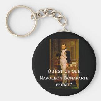 Napoleon Bonaparte 2 Basic Round Button Key Ring