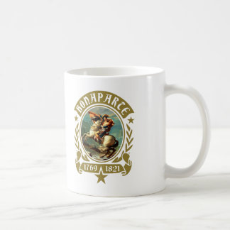 Napoleon Bonaparte Crossing the Alps Coffee Mug