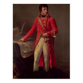 Napoleon Bonaparte  First Consul, 1802 Postcard
