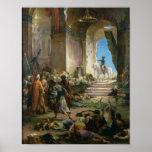 Napoleon Bonaparte  in the Grand Mosque at Cairo Print
