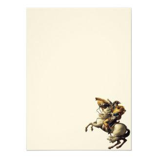 """Napoléon Bonaparte 5.5"""" X 7.5"""" Invitation Card"""