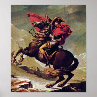 Napoleon Bonaparte on Horseback Poster