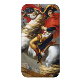 Napoleon Bonaparte Painting by Jacques-Louis David iPhone 4 Case