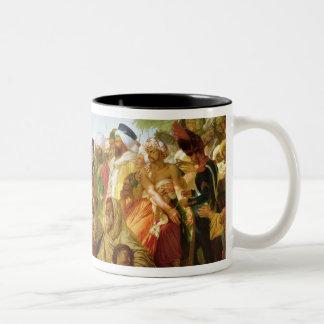 Napoleon Bonaparte  Pardoning the Rebels Two-Tone Coffee Mug
