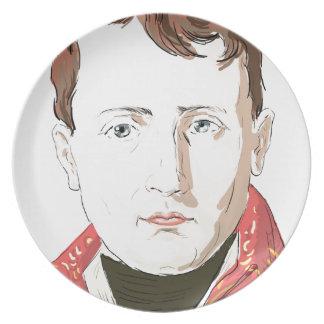 Napoleon Bonaparte Plate