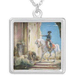Napoleon Bonaparte Silver Plated Necklace