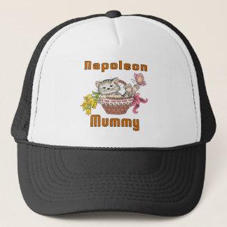 Napoleon Cat Mom Trucker Hat